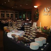 New Year's Eve at AGCC.  Cheesecake Buffet